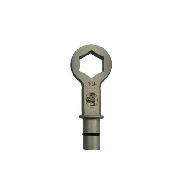 Eastbound Axle nut wrench 19 m
